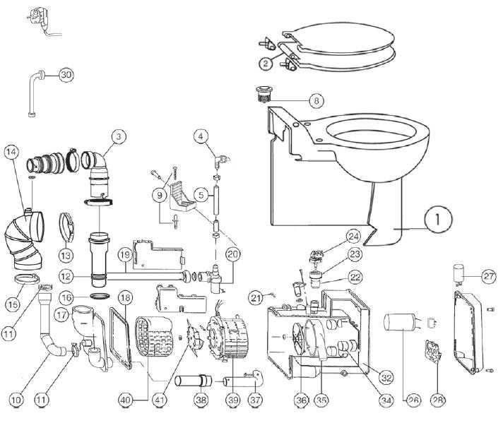 CleanSV/® Microfasermop Profi 40 cm weiss 25 St/ück Sparpack